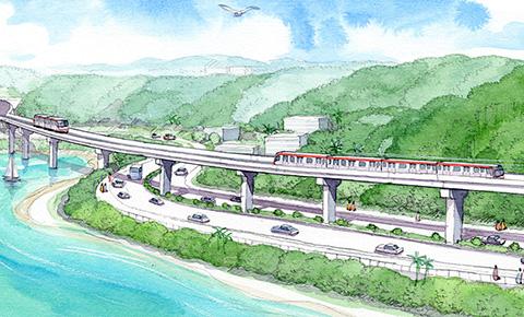 那覇-名護を1時間で結ぶ、沖縄初の鉄道を走らせたい「沖縄縦貫鉄道プロジェクト」